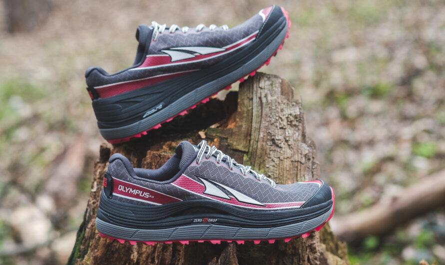 Altra Olympus 2.0: scarpe da ginnastica da trail con grande ammortizzazione